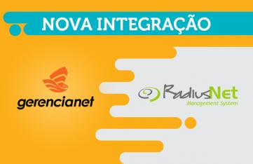 Nova integração: Radiusnet