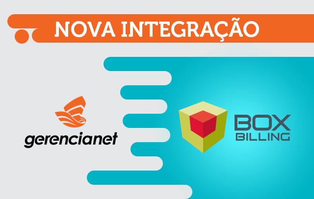 Imagem gráfica escrito nova integração Gerencianet e Box Billing