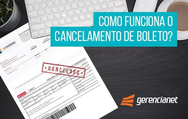 Cancelamento de Boleto