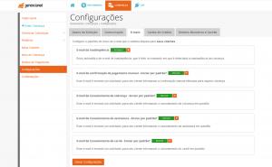 E-mails: configuracao