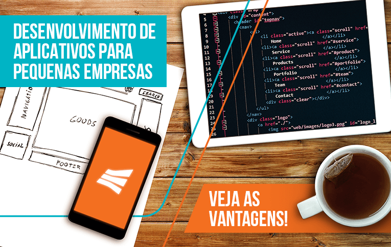 Desenvolvimento de aplicativos para pequenas empresas