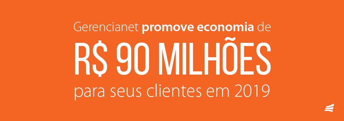Gerencianet promove economia de R$ 90 milhões para seus clientes em 2019
