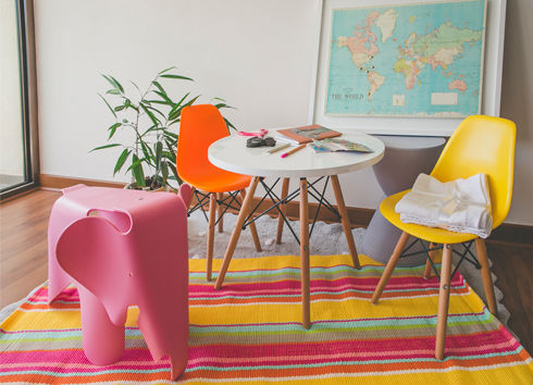 ¡Atrévete con el color en la decoración!