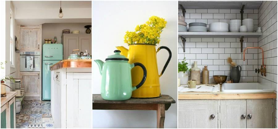 6 Formas de dar a tu cocina un toque vintage
