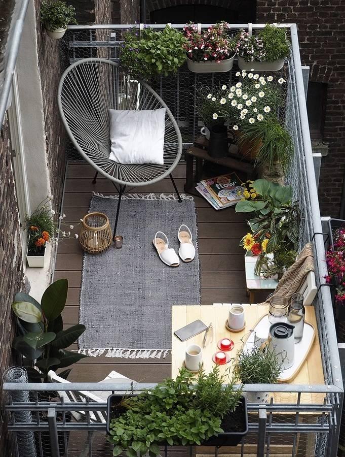 Consejos para aprovechar al máximo tu balcón o terraza
