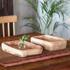 Par de tablas de madera