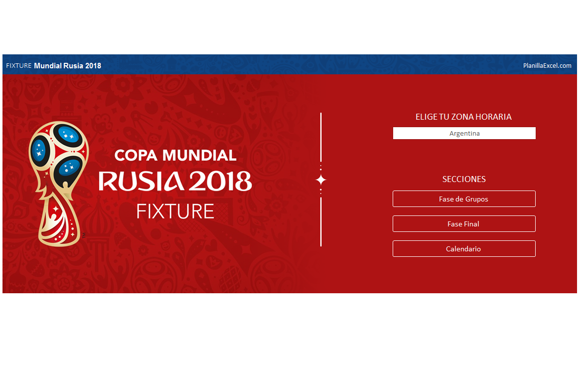 descargar excel mundial rusia 2018 gratis