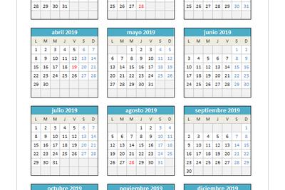 Calendario Agosto 2020 Espana.Planillaexcel Descarga Plantillas De Excel Gratis