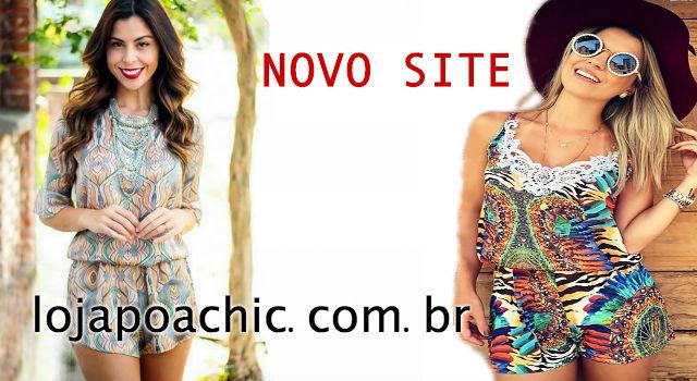 Novo site Poá Chic