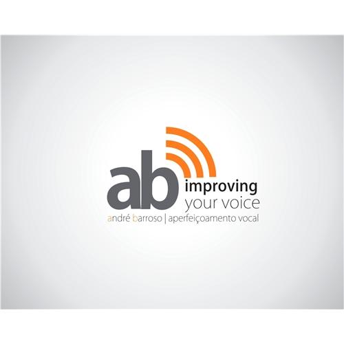 Exemplo de Logo do designer maqplay para André Barroso - Aperfeiçoamento Vocal