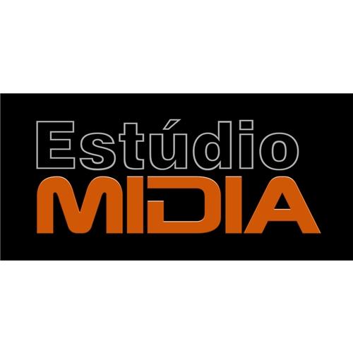 Exemplo de Logo do designer Ronan Amaral para Estúdio Mídia