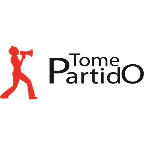 Exemplo de Logo do designer matheusdesafios para Tome partido