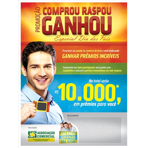 Exemplo de Folheto ou Cartaz (sem dobra) do designer evertonsilvaa para Acia: Campanha Promocional