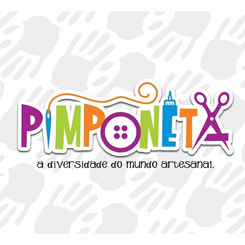 Exemplo de Logo do designer Brandman para Pimponeta