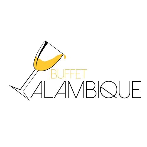 Exemplo de Logo do designer Rosan Dabus para Logo Buffet Alambique