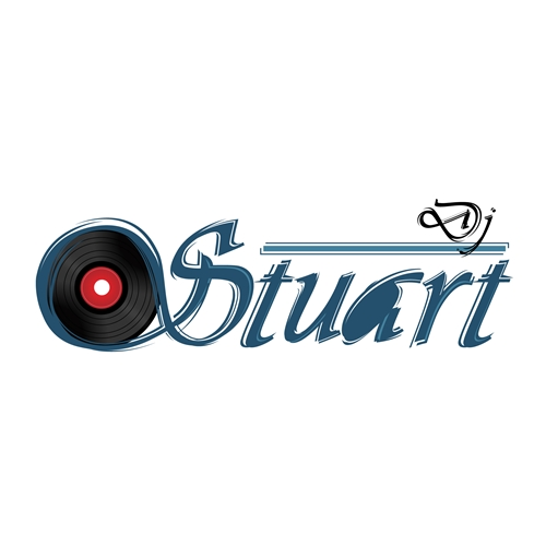 Exemplo de Logo do designer Rosan Dabus para Logo Dj Stuart