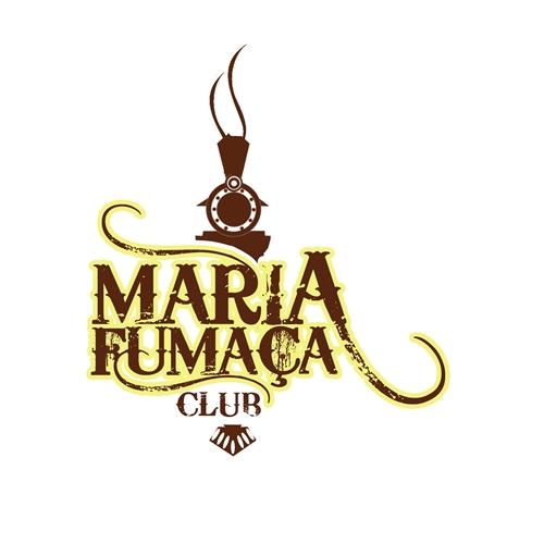 Exemplo de Logo do designer Dilhermando para Maria Fumaça Club
