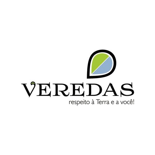 Exemplo de Logo do designer Liliane M. para Veredas