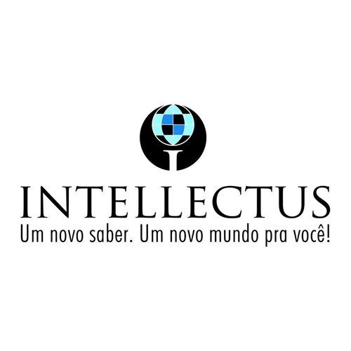 Exemplo de Logo do designer Liliane M. para Curso Intellectus