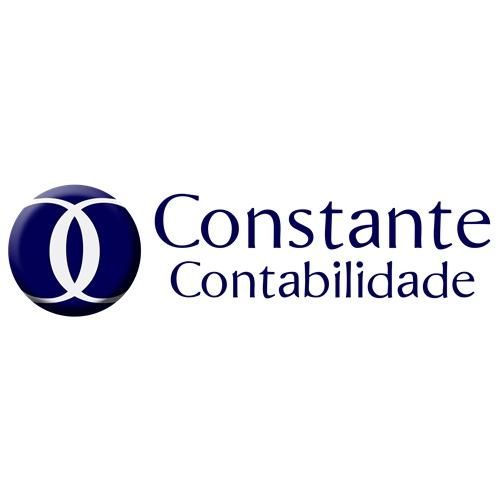 Exemplo de Logo do designer Kathe Lopes para Constante contabilidade