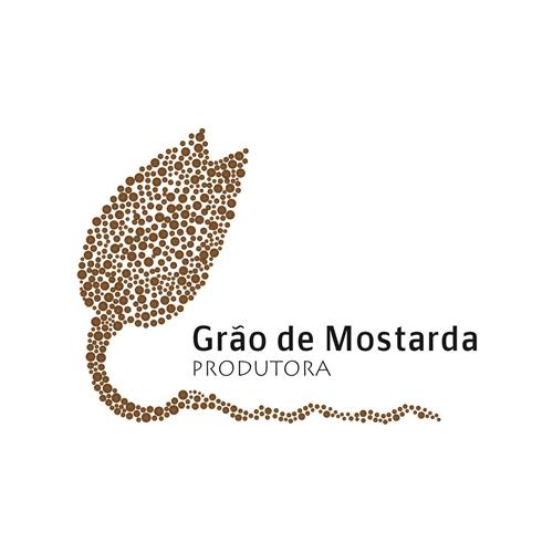 Exemplo de Logo do designer Kathe Lopes para Produtora Grao de Mostarda