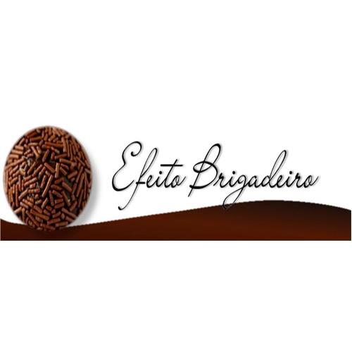 Exemplo de Logo do designer angelpequena para Efeito brigadeiro