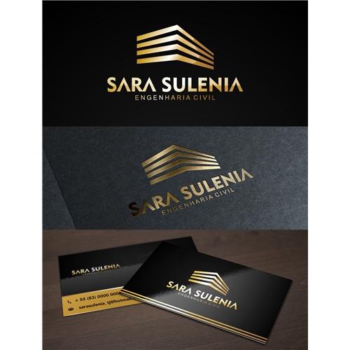 Exemplo de Logo e Cartao de Visita do designer Denilson Carvalho para Arquitetura