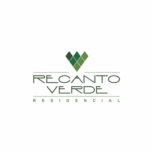 Exemplo de Logo do designer Liliane M. para Residencial Recanto Verde