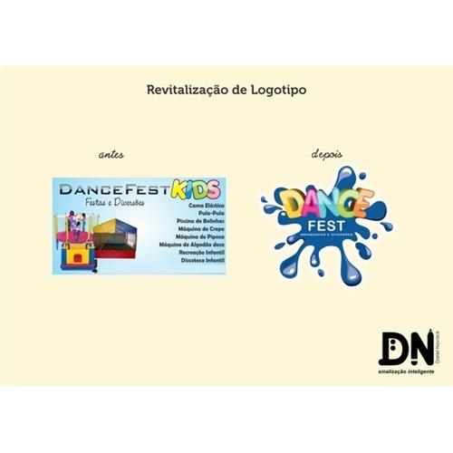 Exemplo de Logo do designer Dariel Novack para Revitalizaçao de Logotipo e Mascote