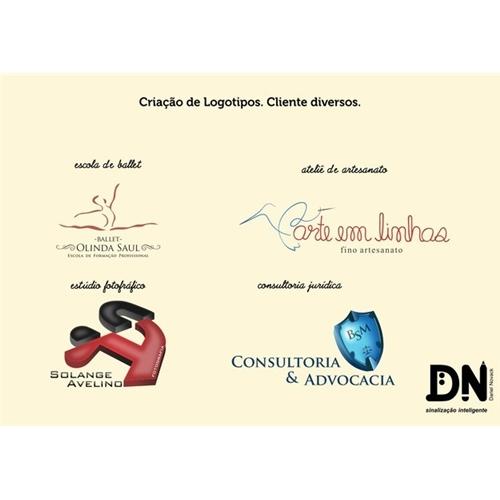 Exemplo de Logo do designer Dariel Novack para Logotipos