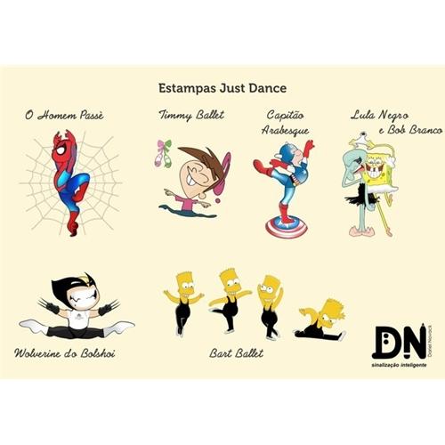 Exemplo de Camisa (unidade) do designer Dariel Novack para Estampas de Dança