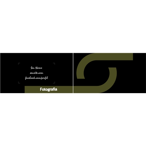 Exemplo de Logo e Cartao de Visita do designer Heitor Garcia Corso para Fotografia