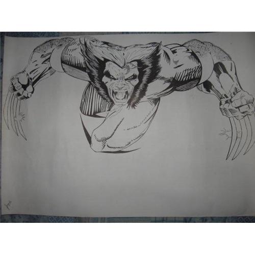 Exemplo de Ilustraçao ou Caricatura do designer jorgerecife1985 para Wolverine