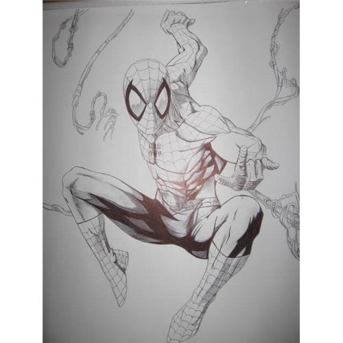 Exemplo de Ilustraçao ou Caricatura do designer jorgerecife1985 para Homem Aranha