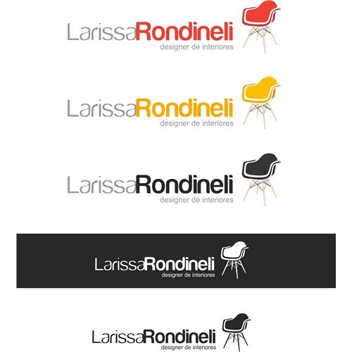 Exemplo de Logo do designer Fernando Rondineli.designer para Larissa Rondineli 2
