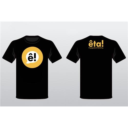 Exemplo de Camisa (unidade) do designer DanCorleone para Eta! Propaganda & Marketing