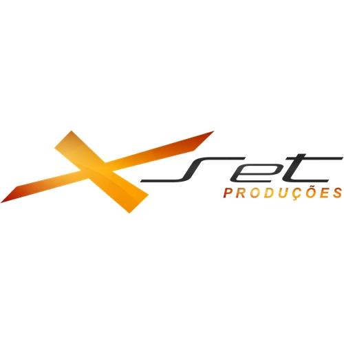 Exemplo de Logo do designer Davis_Alves para X Set Producoes