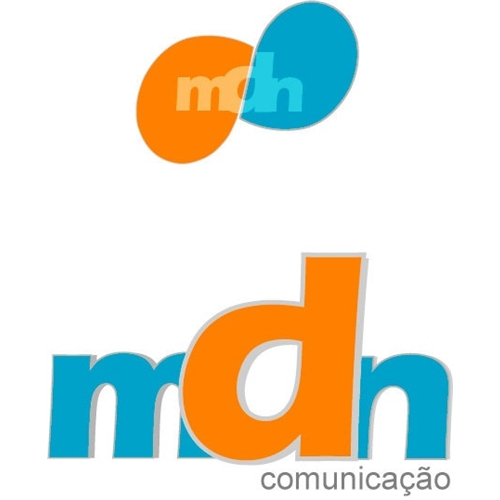 Exemplo de Logo do designer Nascimento(nasci) para mdn comunicaçao
