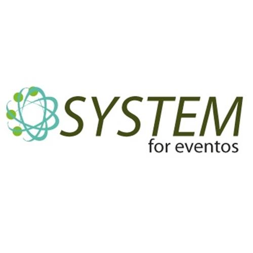Exemplo de Logo do designer Nascimento(nasci) para system for eventos