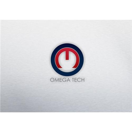 Exemplo de Logo do designer OMAMORI para Omegatech
