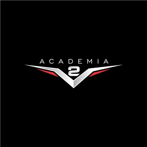 Exemplo de Logo do designer Lucas de França para Academia V2