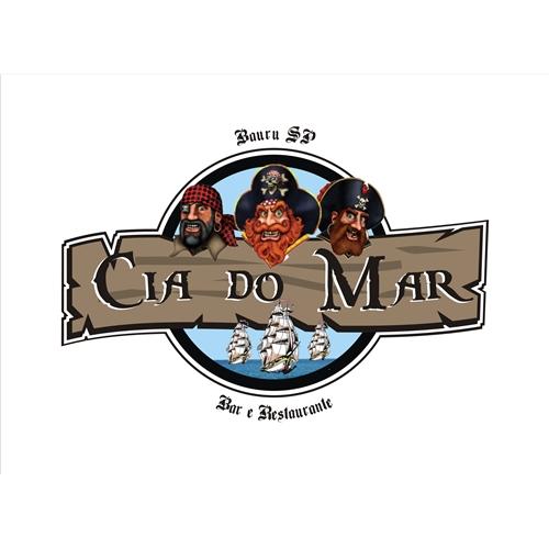 Exemplo de Logo do designer pcs182 para restaurante cia do mar
