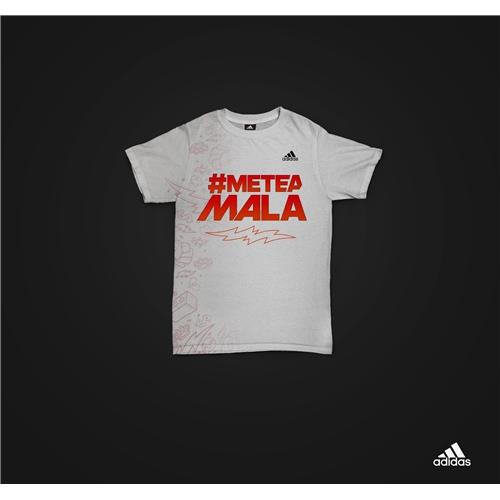 Exemplo de Uniforme (até 3 Variaçoes) do designer Lucca Designer para Blusa remessa 4, there will be haters Adidas.