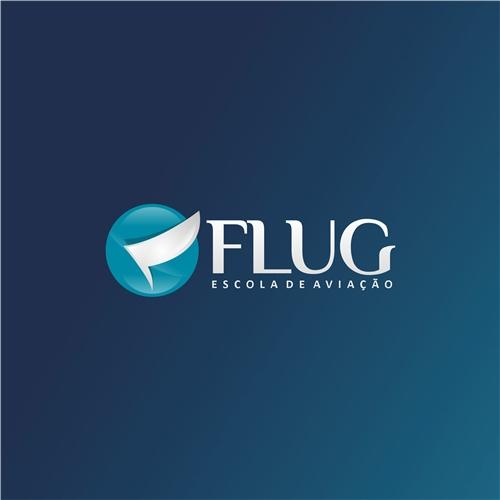 Exemplo de Logo do designer at4design para Projeto Flug