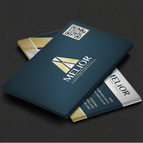 Exemplo de Logo do designer at4design para Projeto Melior