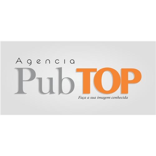 Exemplo de Nome de Empresa e Slogan do designer mkasttro para Agência Pub TOP   Faça sua imagem conhecida.