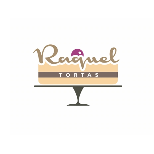 Exemplo de Logo do designer MOONdesign para Raquel Tortas