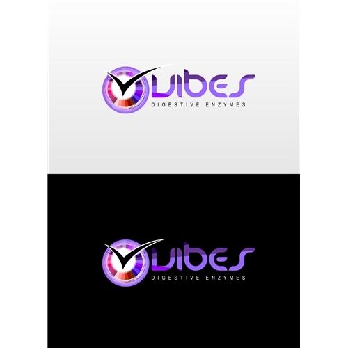 Exemplo de Logo do designer Tej para Vibes