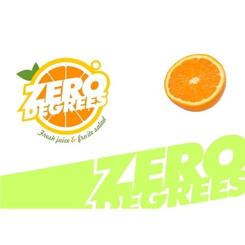 Exemplo de Logo do designer Tej para ZERO DEGREES