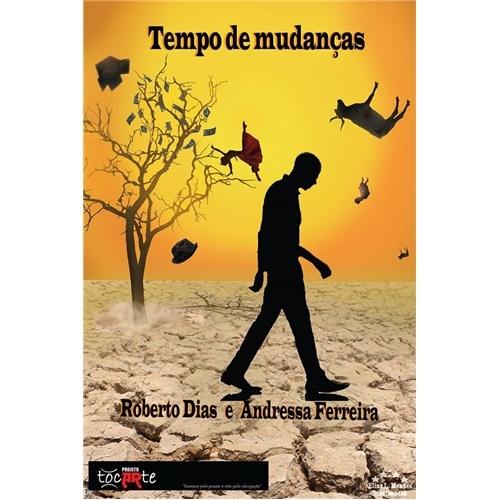 Exemplo de Folheto ou Cartaz (sem dobra) do designer Lisy Lemos para banner - Tempo de Mudanças